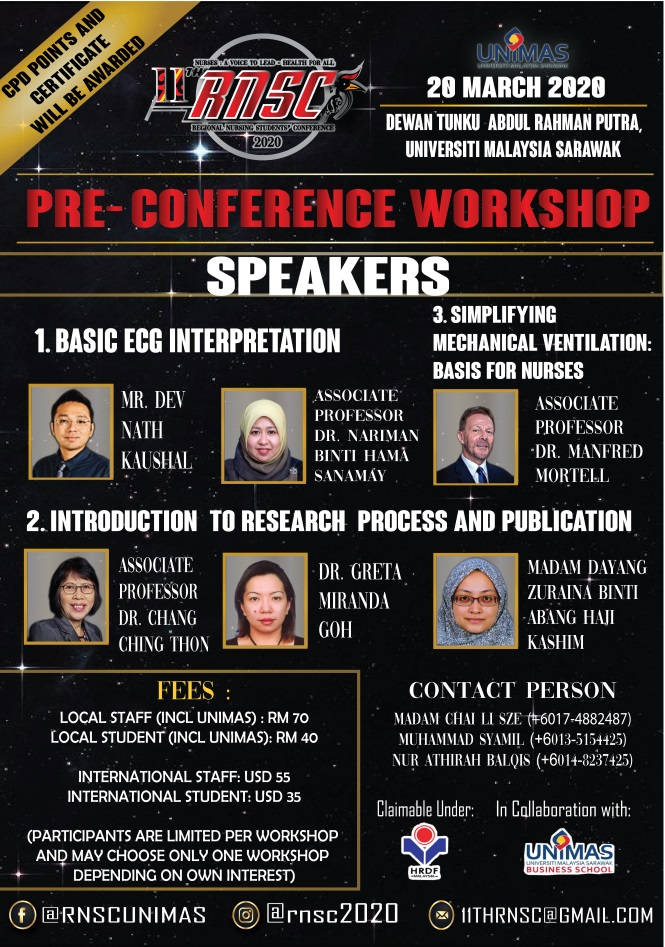 4 PRE CONFERENCE WORKSHOP SPEAKER