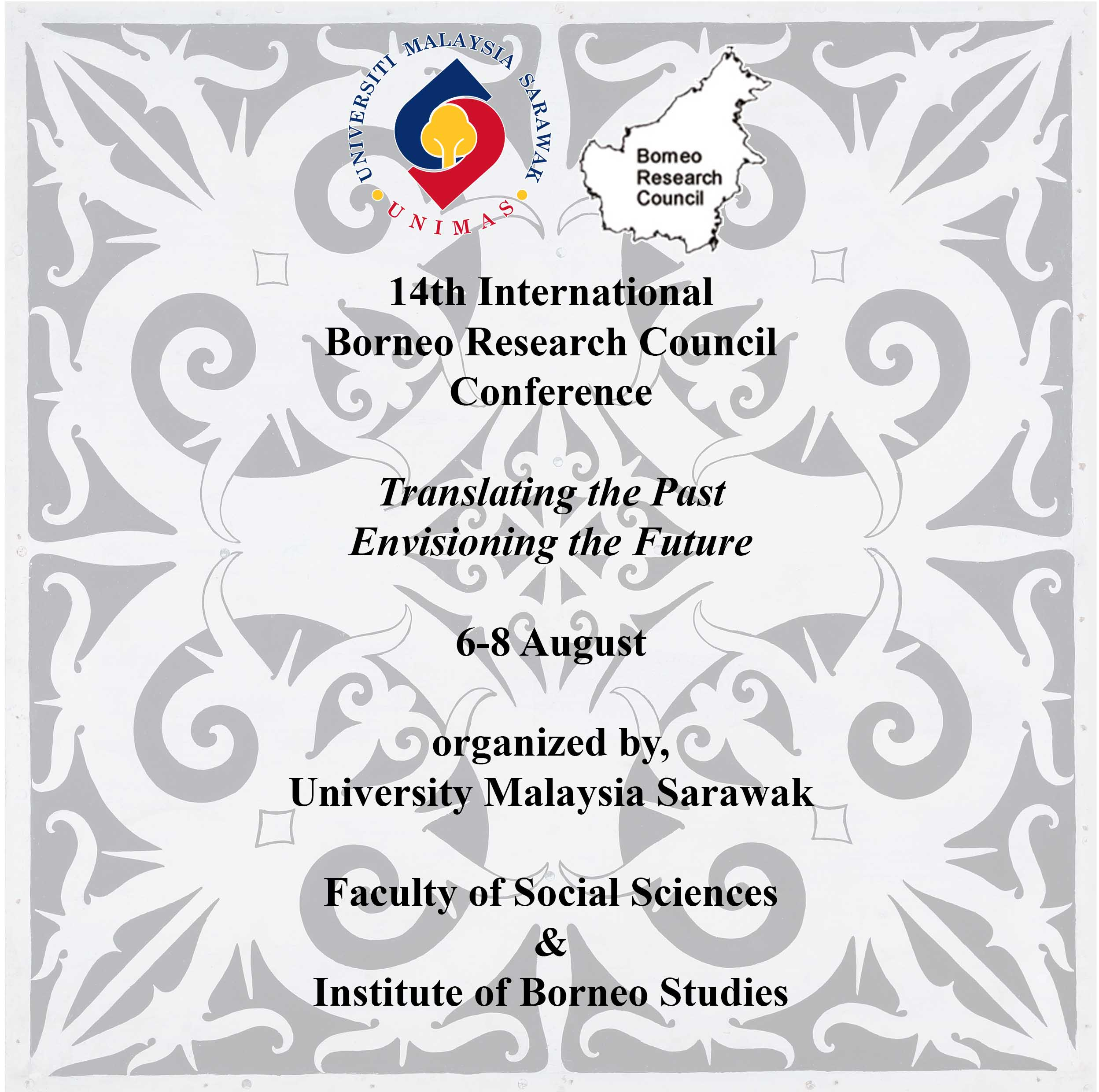 CALL FOR PAPERS & PANEL PROPOSAL, THE BORNEO RESEARCH