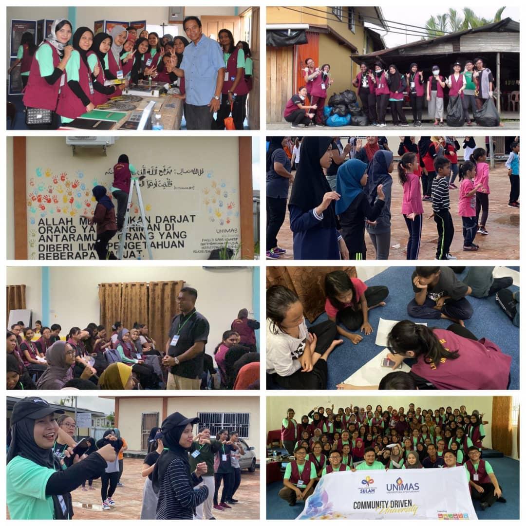 Program Kembara Ilmu Di Kampung Pusa Khidmat Untuk Masyarakat